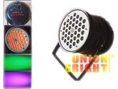 China UB-A083 LED Par 64(Tri-color RGB in one) supplier